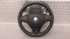 Genuine BMW E90 E91 E92 E93 M Sport Steering Wheel Paddle Shift + Airbag