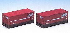 Tomix 3118 Type 30A 9t 20' Containers (2 pieces) (N scale)