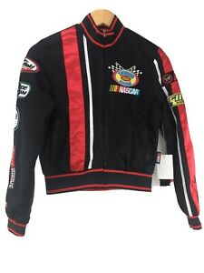 G-III Nascar Jacket Youth Small Thunder Speedway Embroidered Reversible New