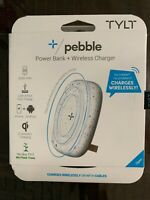 TYLT | Pebble Power Bank + Wireless Charger Qi | Brand New