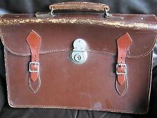 Leather Satchel 1960s Vintage Change Purses