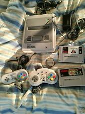 Nintendo SNES Super Nintendo, 2 Controller und 2 Spiele