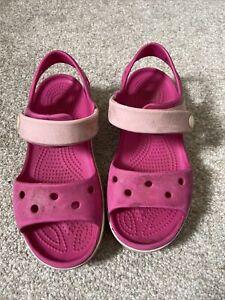 Girls Crocs Size 12 Sandals