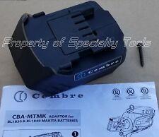 Cembre CBA-MTMK 18V Makita battery adapter for hydraulic crimper cutter