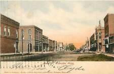 Minnesota, MN, Wabasha, Main Street 1906 Postcard