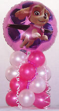 Paw Patrol Skye Ever Birthday foil Balloons Table Decoration Display Party