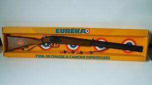 Jouet ancien Fusil à canons superposé EUREKA Ref. W2006 [ NEUF ]