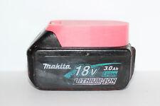 Pink battery holder / cover for Makita BL1820 BL1830 BL1840 BL1850 18v