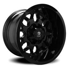 20x10 RBP 73R Atomic Gloss Black Wheels 8x180 (-25mm) Set of 4