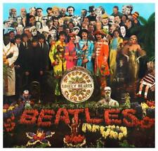 The Beatles - LARGE POSTER  - Sgt. Peppers Lonely Hearts Club Band promo ad