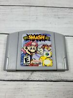 Super Smash Bros. (Nintendo 64, 1999) N64 Authentic NEW BATTERY Tested