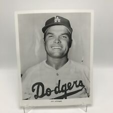 "JIM LEFEBVRE - Los Angeles Dodgers Baseball - 8"" x 10"" Black & White Photograph"