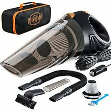 Car Vacuum Cleaner Handheld Duster Vac Dry And Wet Suction Hand Portable 12V