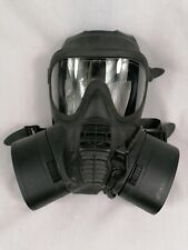 More details for british army issue gsr (general service respirator) gas mask - size 3 medium.