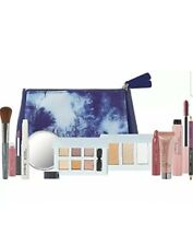 NEW Ulta Cosmetics Makeup Bag With Mirror & 10-piece Ulta Makeup Collection