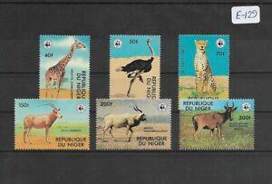 SMT, WWF, Niger animals set, MNH