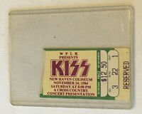 KISS Queensryche 1984 Concert Ticket Stub Animalize New Haven