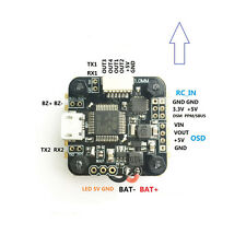Mini F3 OSD 2-4S Flight Controller Integrated BEC OSD MPU6000 4-in-1 ESC DSHOT