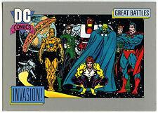 Invasion! #156 Impel 1991 DC Comics Trade Card (C289)