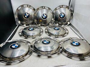 8x BMW Neue Klasse 1500 1600 1800 2000 Radkappen Oldtimer 13 Zoll Chrom Metall
