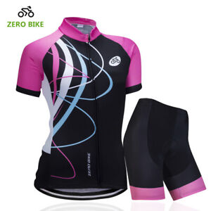 Cycling Jersey Set  Women Sportswear Bike Clothing Bicycle Shorts