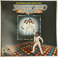 SATURDAY NIGHT FEVER OST 2 LP RSO UK 1977 NEAR MINT PRO CLEANED