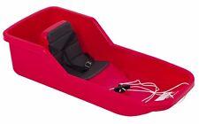 Hamax Baby erster Schneebob Babybob mit erhöhtem Sitz und Gurt rot 227494