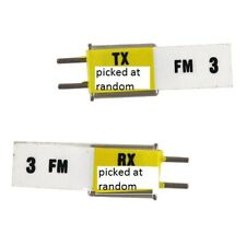 Redcat Racing E121 FM Radio Crystals (TX and RX) 27Mhz  E121