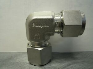 SWAGELOK 316-HWE STAINLESS STEEL 316-INV ELBOW TUBE COUPLING CONNECTOR SS **NEW