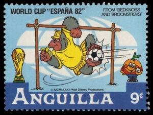 ANGUILLA 497 (SG525) - Disney Espana '82 World Cup Football (pf84725)