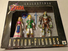 Legend Of Zelda Ocarina Of Time LOZ OOA Action Figure Set Link Gannon Brand New
