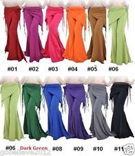 New Cotton Yoga And Belly Dance Pants 6 Colors Available Free Shipping  Size XL