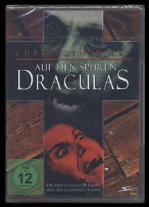 DVD AUF DEN SPUREN DRACULAS - CHRISTOPHER LEE ist Dracula *** NEU ***