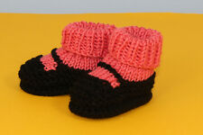 PRINTED KNITTING INSTRUCTIONS-BABY SOCK & SLIPPER BOOTIE BOOTEE KNITTING PATTERN