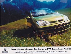 RENAULT SCENIC 1999 PRESS PHOTO   ***POST FREE UK ***