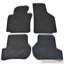 Gummimatten Gummifußmatten 100% Paßform für Seat Leon II 1P ab Bj.08/2005 - 2012