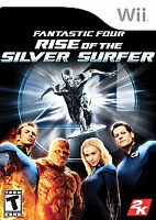 Fantastic 4: Rise of the Silver Surfer (Nintendo Wii, 2007)