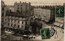 CPA Lyon - Place du Pont et rue de Marseille (470208)