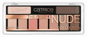 CATRICE The Fresh Nude 9 Colour Eyeshadow Palette - Warm Neutral Day to Night