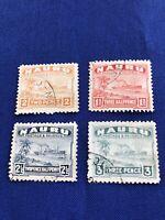 Nauru Island Stamps,4, 1937, Used, Cat Val: $30US, Price: $7US  (2230)