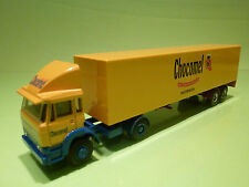 LION CAR DAF 1900 TURBO TRUCK - CHOCOMEL NUTRICIA - 1:50 - RARE SELTEN - GOOD