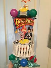 Roger and Jessica Rabbit  Cake-Topper-Party-Decoration  ROAD TO NOWHERE