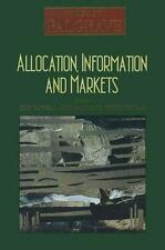 Allocation, Information and Markets (The New Palgrave Series)-ExLibrary