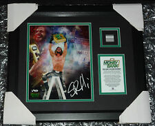 Plaque WWE Money in the Bank MITB new Signed Seth Rollins Limited Edition #1/400