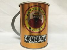 Bayou Billy 32 Oz Tin Cup Put Some South In Your Mouth $1 Refill Forever VGUC