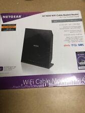 NETGEAR AC1600 WiFi Cable Modem Router 802.11ac Dual Band Gigabit Model# C6250