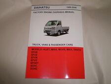 Daihatsu Hijet Mini Truck English Engine Repair Manual For S210P EF Injected