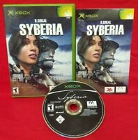 Syberia  - XBOX OG Game - COMPLETE with manual  - Tested + Working