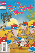 Ren & Stimpy Show #9 Marvel Trash Day Native Son Dan Slott Nickelodeon cartoon