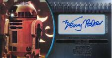 Attack of the Clones Widevision 3D Autograph Kenny Baker as R2-D2 6/25 Silver